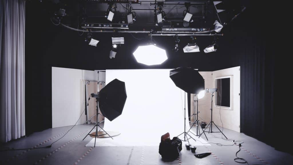 Video interview lighting